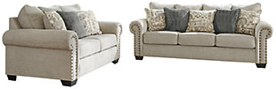 Zarina Sofa and Loveseat, , large