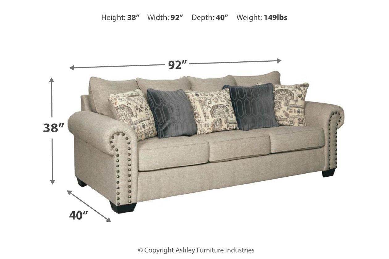 Groovy Zarina Sofa Ashley Furniture Homestore Theyellowbook Wood Chair Design Ideas Theyellowbookinfo