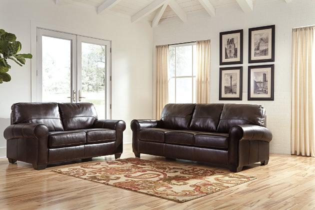 Canterelli Sofa, Chestnut, large