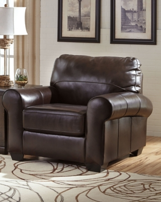 Chestnut Leather Chair Product Photo 1034