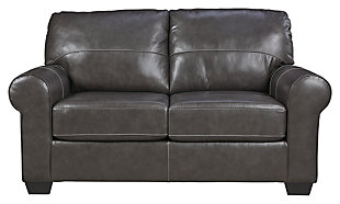 Canterelli Loveseat, Gunmetal, large