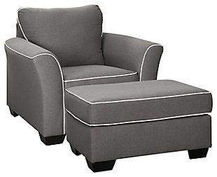 Domani Chair and Ottoman, , large