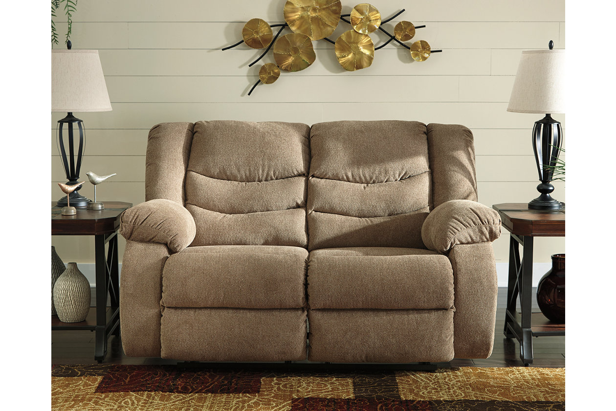 Outstanding Tulen Reclining Loveseat Ashley Furniture Homestore Ibusinesslaw Wood Chair Design Ideas Ibusinesslaworg