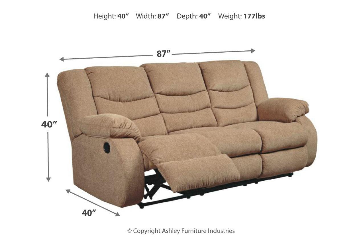 Sensational Tulen Reclining Sofa Ashley Furniture Homestore Dailytribune Chair Design For Home Dailytribuneorg