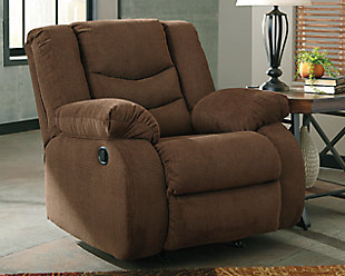 Tulen Recliner, Chocolate, large