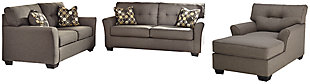 Tibbee Sofa, Loveseat and Chaise, , large