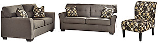 Tibbee Sofa, Loveseat and Chair, , large
