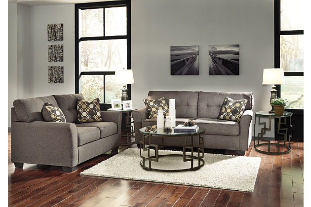 Tibbee 5 piece living room set ashley furniture homestore for Living room ideas ashley furniture