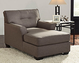 chaise lounge chairs for living room.  large Tibbee Chaise rollover Living Room Chairs Ashley Furniture HomeStore