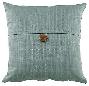 Jolissa Pillow, Turquoise, large