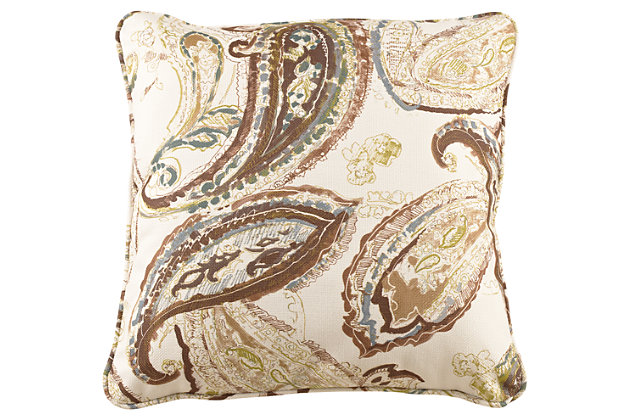 Estin Pillow by Ashley HomeStore, Tan