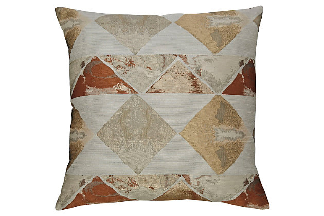 Fryley Pillow by Ashley HomeStore, Multi, Polyester (100 %)