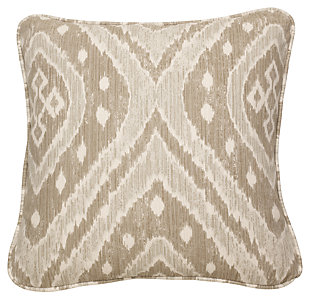 Sumatra Pillow, Pebble, large