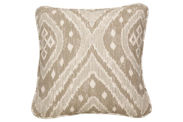 Sumatra Pillow, Pebble, large
