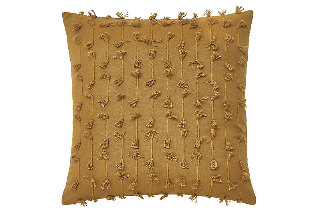 Eleri Pillow Cover by Ashley HomeStore, Gold