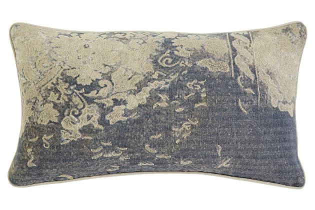Patterned Pillow, , large