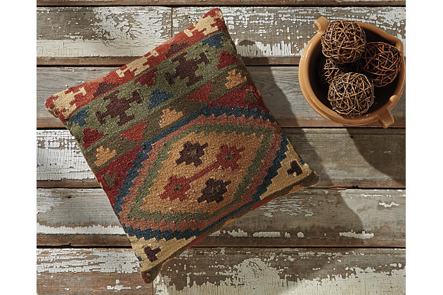Multi-Color Ishaan Pillow by Ashley HomeStore