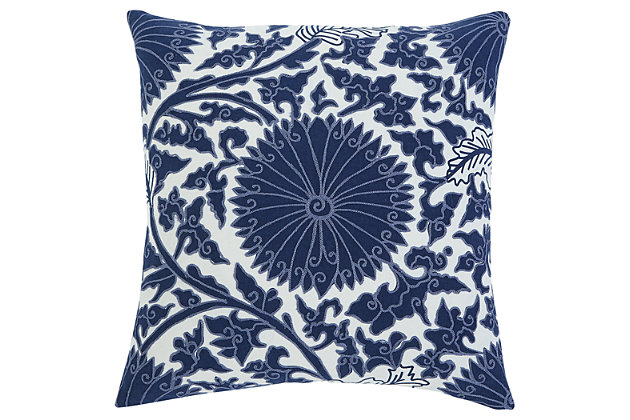 Medallion Pillow and Insert, , large