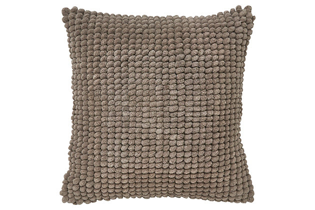 Lukas Pillow by Ashley HomeStore, Gray