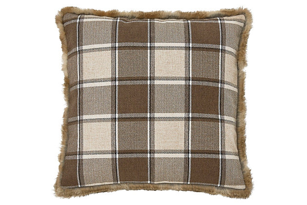Smythe Pillow by Ashley HomeStore, Brown