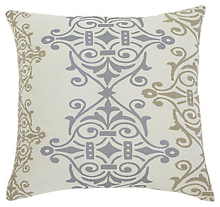 Scroll Pillow and Insert, , large
