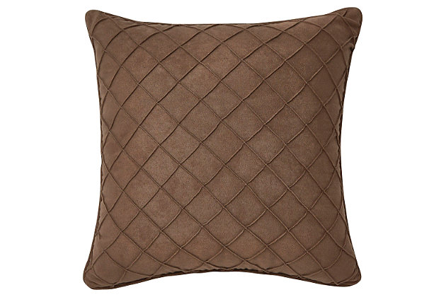 Damia Pillow by Ashley HomeStore, Brown