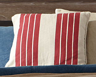 Striped Pillow Cover, , large