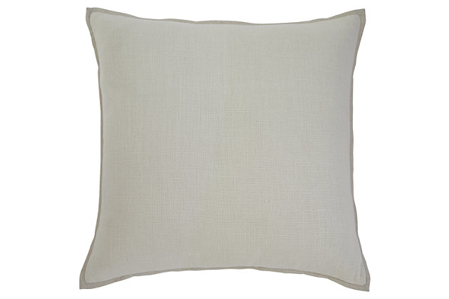 Solid Pillow and Insert, , large