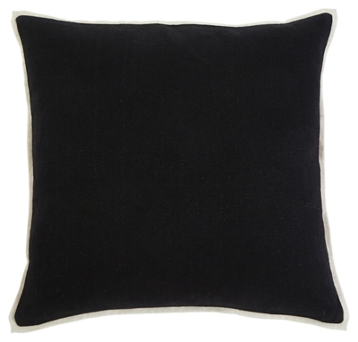 Ashley Solid Pillow Cover, Black