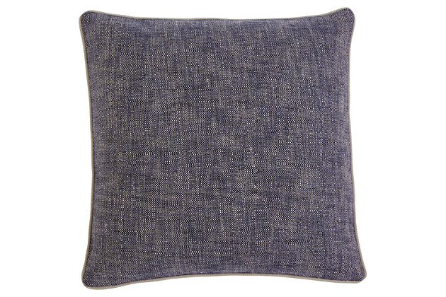 Textured Pillow and Insert, , large