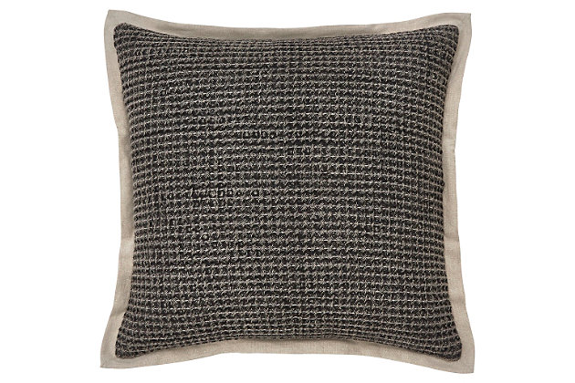 Wrexyville Pillow by Ashley HomeStore, Gray