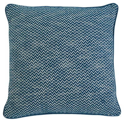 Ashley Chevron Pillow, Teal