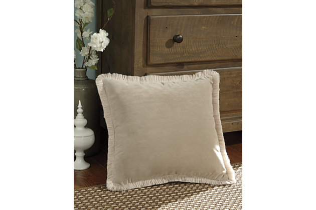 D'Artagnan Pillow by Ashley HomeStore, Tan