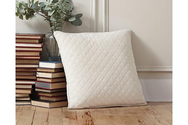 White Piercetown Pillow by Ashley HomeStore