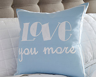 Love You More Pillow, , large