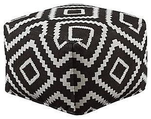 Geometric Pouf, , large