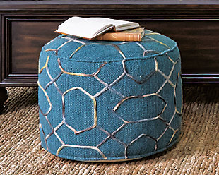 Overdyed Pouf, , rollover