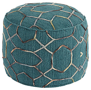 Overdyed Pouf, , large