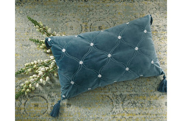 Green Kemen Pillow by Ashley HomeStore