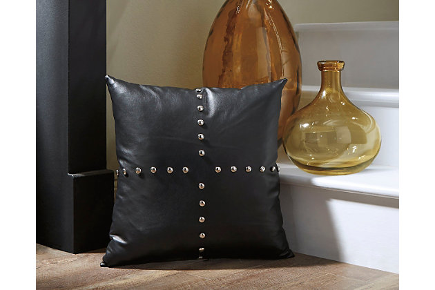 Gray Keizer Pillow by Ashley HomeStore