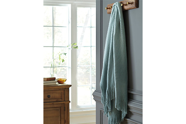 Danyl Throw by Ashley HomeStore, Green