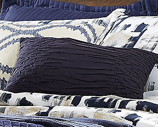 Nellie Pillow, Navy, rollover