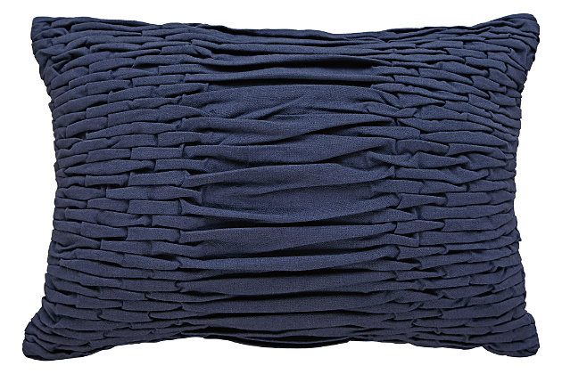 Nellie Pillow, Navy, large