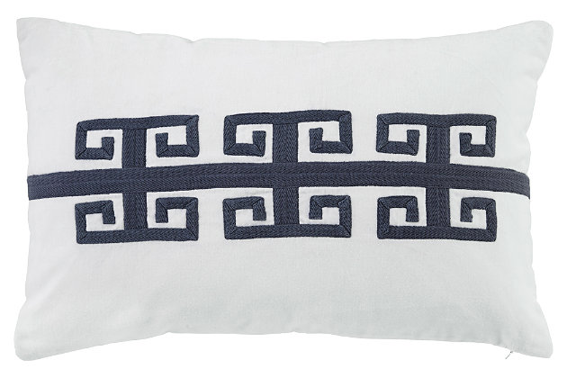 Amadeo Pillow by Ashley HomeStore, Navy, Cotton (100 %)