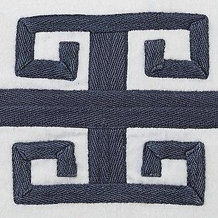 Amadeo Pillow, Navy, large