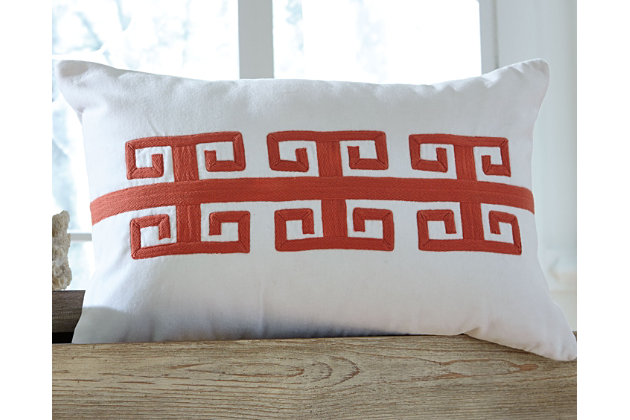 Amadeo Pillow, Coral, large