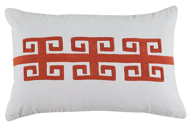 Amadeo Pillow by Ashley HomeStore, Orange, Cotton (100 %)