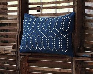 Simsboro Pillow, Navy, large