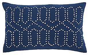 Simsboro Pillow, Navy, large