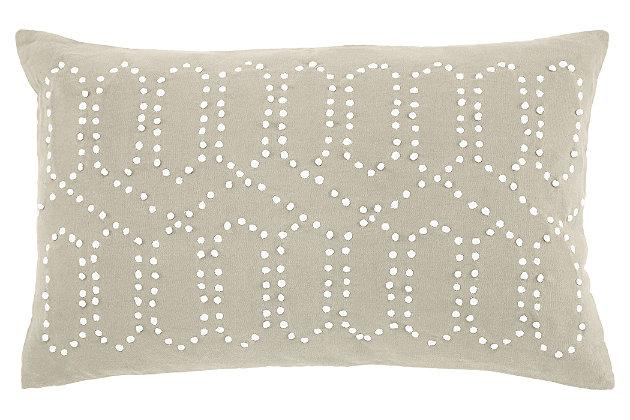Simsboro Pillow, Natural, large